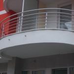 Balkonske ograde stambeno poslovni objekat  Doboj BiH