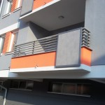 Balkonske ograde na stambeno poslovnom objektu Anđela Doboj